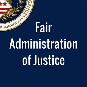 Fair Administration of Justice